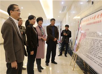 县领导慰问宣传系统一线工作人员