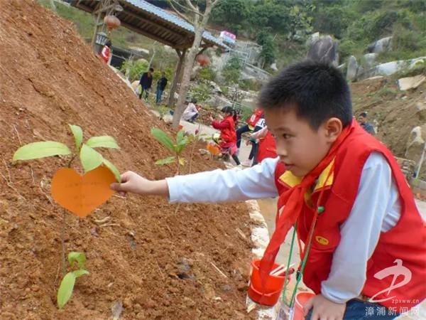 幼儿园植树节爱心卡图片