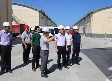 黄庆华到一线现场办公 助力企业发展项目推进