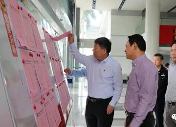 县委书记调研指导政法队伍教育整顿工作