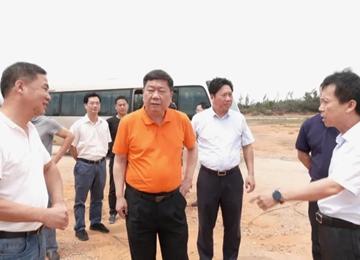 县委书记戴平忠带队到赤湖镇调研重大工业项目推进情况